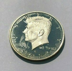 Click now to see the BUY IT NOW Price! 2011 S JFK KENNEDY HALF DOLLAR PROOF MAJOR MINT ERROR STRUCK THRU GREASE