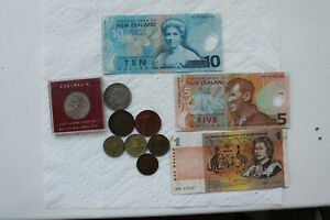 AUSTRALIA AND NEW ZEALAND COINS  8  AND BANKNOTES  3  1922 2000