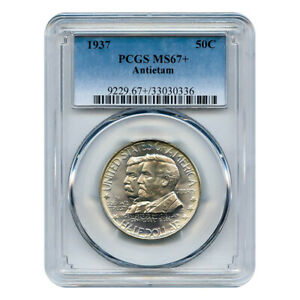 Click now to see the BUY IT NOW Price! CERTIFIED COMMEMORATIVE HALF DOLLAR ANTIETAM 1937 MS67  PCGS