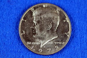 ESTATE  FIND  1972     D  KENNEDY HALF DOLLAR   F8252