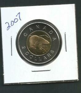 CANADA   2 DOLLARS   2007   BU PL FROM SET
