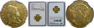 1805 $2.50 GOLD COIN NGC AU 50