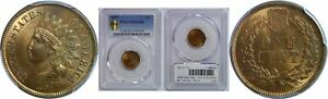 Click now to see the BUY IT NOW Price! 1877 INDIAN HEAD CENT PCGS MS 66 RB