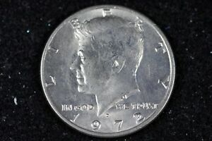ESTATE FIND 1972   D KENNEDY HALF DOLLAR   H9757