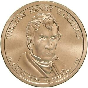 2009 D PRESIDENTIAL DOLLAR WILLIAM HENRY HARRISON SATIN FINISH