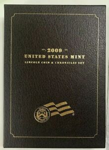 2009 LINCOLN COIN & CHRONICLES SET IN SLEEVE WITH COA IS14
