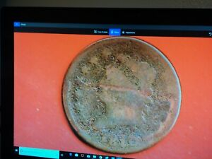 1810 CLASSIC HEAD LARGE CENT 209 YEARS OLD ANTIQUE 1583
