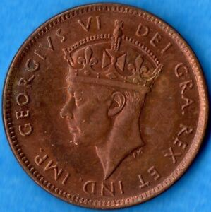 1943 George VI Small Cent Mintage, Photos, Specifications, Errors