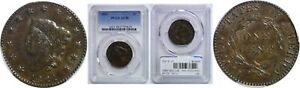 Click now to see the BUY IT NOW Price! 1821 LARGE CENT PCGS AU 58