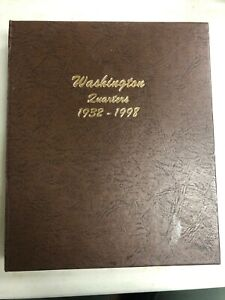 Click now to see the BUY IT NOW Price! WASHINGTON QUARTERS 1932 1998 BOOK