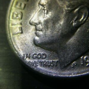 1962 SILVER ROOSEVELT DIME ERROR AND 1964 SILVER ROOSEVELT DIME NO MINT MARK