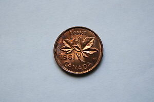 CANADA 1961 ONE  1 CENT   PROOF LIKE PL 64