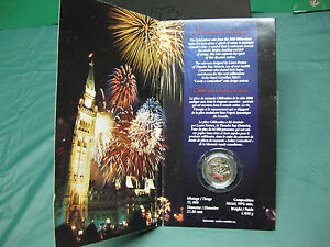 Click now to see the BUY IT NOW Price! 2000 COLOURIZED CELEBRATION CANADIAN QUARTER $0.25   SEALED
