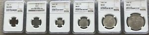 Click now to see the BUY IT NOW Price! 1900 MS COIN YEAR SET NGC CERTIFIED