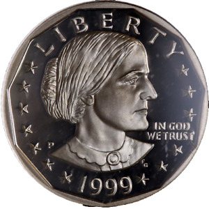 1999 P SUSAN B. ANTHONY DOLLAR NGC PF70UC GREAT EYE APPEAL FANTASTIC LUSTER