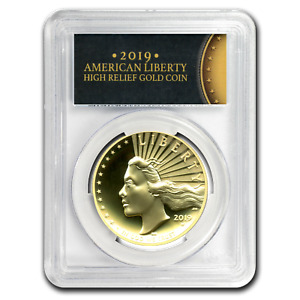 Click now to see the BUY IT NOW Price! 2019 W HIGH RELIEF AMERICAN LIBERTY GOLD SP 70 DMPL PCGS  FS    SKU200981