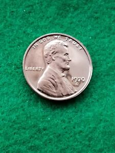 1970 S  UNCIRCULATED LINCOLN CENT/PENNY PROOF