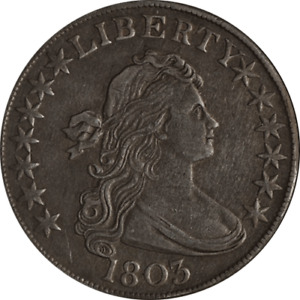 Click now to see the BUY IT NOW Price! 1803 BUST HALF DOLLAR CHOICE XF  LARGE 3 O 101 R.3 GREAT COLOR AND SURFACES