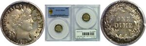 Click now to see the BUY IT NOW Price! 1913 S BARBER DIME PCGS MS 64