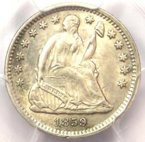 1859 O SEATED LIBERTY HALF DIME H10C COIN   PCGS UNCIRCULATED DETAILS  UNC MS
