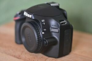 NIKON D D3200 24.2 MP DIGITAL SLR CAMERA   BLACK  BODY ONLY