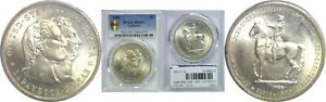 Click now to see the BUY IT NOW Price! 1900 LAFAYETTE DOLLAR SILVER COMMEMORATIVE PCGS MS 65