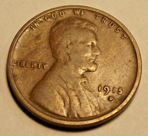 1915D LINCOLN WHEAT CENT  LOT MM85          SEE PHOTOGRAPHS YOU GRADE