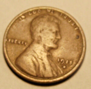 1915D LINCOLN WHEAT CENT  LOT MM86          SEE PHOTOGRAPHS YOU GRADE