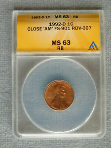 Click now to see the BUY IT NOW Price! 1992 D LINCOLN MEMORIAL CENT CLOSE
