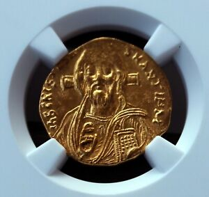 Click now to see the BUY IT NOW Price! BYZANTINE EMPIRE. JUSTINIAN II. FIRST REIGN 685 695. AV SOLIDUS NGC MS