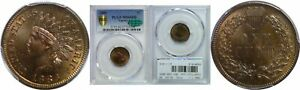 Click now to see the BUY IT NOW Price! 1886 T 1 INDIAN HEAD CENT PCGS MS 66 RB CAC