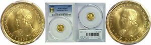 Click now to see the BUY IT NOW Price! 1904 LEWIS AND CLARK $1 GOLD COMMEMORATIVE PCGS MS 67