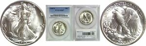 Click now to see the BUY IT NOW Price! 1945 S WALKING LIBERTY HALF DOLLAR PCGS MS 67