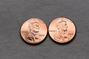 2019 2018 2017   P & D LINCOLN SHIELD CENT / PENNY SET  6 COINS