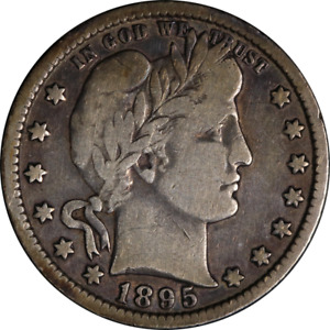 1895 O BARBER QUARTER GREAT DEALS FROM THE EXECUTIVE COIN COMPANY