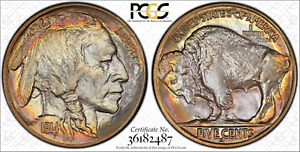 Click now to see the BUY IT NOW Price! 1914 S 5C PCGS MS66  BUFFALO NICKEL  ONLY 2 GRADE HIGHER  PCGS GUIDE IS $18 000