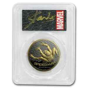 Click now to see the BUY IT NOW Price! 2017 1 OZ AU $200 SPIDERMAN HOMECOMING PR 70 PCGS DCAM FDOI   SKU205541