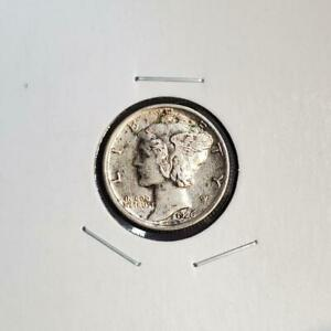 1926 D MERCURY DIME   ABOUT UNCIRCULATED /AU   BETTER DATE