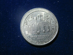 2016 P  HARPERS FERRY  NEAR UNCIRCULATED