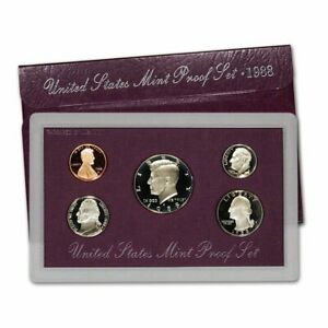 1985 S UNITED STATES PROOF SET OF COINS 1985 BIRTH YEAR SET