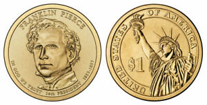 FRANKLIN PIERCE PRESIDENTIAL DOLLAR 2010 P   CIRCULATED