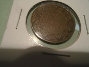 1918 &1920 CANADIAN ONE CENT  LARGE COINS NICE PAIR