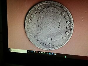 1831 CAPPED BUST DIME 187 YEARS OLD ANTIQUE &  653
