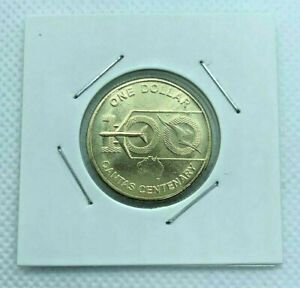 2020 $1 ONE DOLLAR 100 YEARS QANTAS CENTENARY COIN FROM RAM BAG UNC IN 2X2