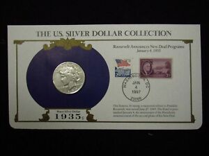 1935 S SILVER PEACE DOLLAR THE US SILVER DOLLAR COLLECTION