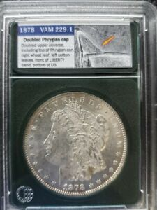 Click now to see the BUY IT NOW Price!      1878 REVERSE OF 1879 VAM 229.1 MORGAN SILVER DOLLAR SHIPS FREE