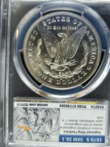 Click now to see the BUY IT NOW Price! WOW  VAM 36.1   DRAGON SCALES  1878 S PCGS MS 63 MORGAN SILVER DOLLAR SHIPS FREE