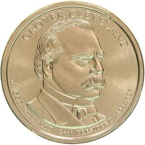2012 P PRESIDENTIAL DOLLAR GROVER CLEVELAND 2ND TERM BU CLAD US COIN