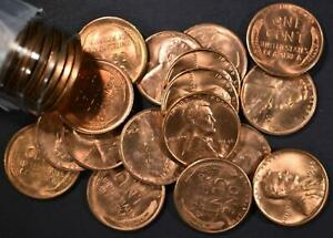 ROLL OF BU 1946 S LINCOLN CENTS
