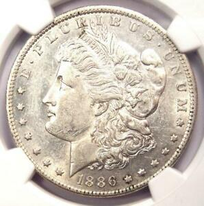 1886 O MORGAN SILVER DOLLAR $1   CERTIFIED NGC AU55    IN AU55   NEAR MS UNC